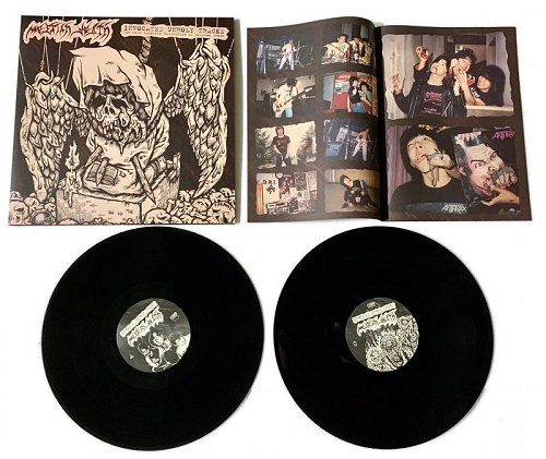 "MESSIAH DEATH ""Invocated unholy tracks"" (black) 2xLP"