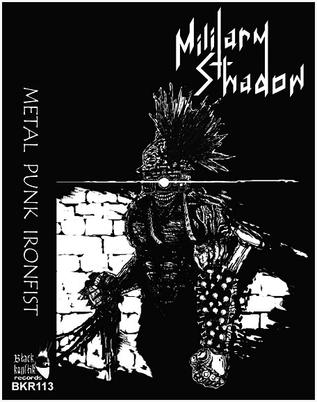 "MILITARY SHADOW ""Metal Punk Ironfist\"""