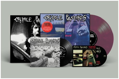 "CRIPPLE BASTARDS ""Misantropo.."" 20YearEdition LP+7""+CD(diehard)"