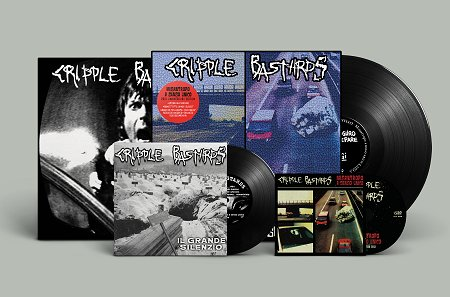 "CRIPPLE BASTARDS ""Misantropo..\"" 20 Year Edition LP+7\""+CD(black)"