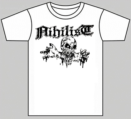 "NIHILIST ""Bone-biting skull"" (t-shirt)"