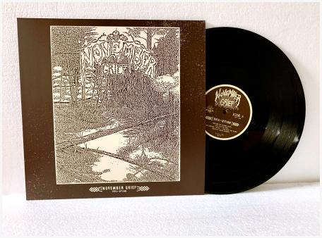 "NOVEMBER GRIEF ""Evil-ution"" LP (black) PREORDINI"