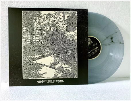 "NOVEMBER GRIEF ""Evil-ution"" LP (diehard translucent) PREORDER"