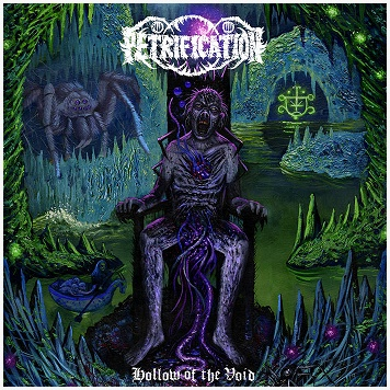 "PETRIFICATION ""Hollow of the void"" [WHITE LP!]"