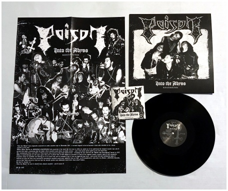 "POISON ""Into the abyss - resurrected"" LP+CD (black)"