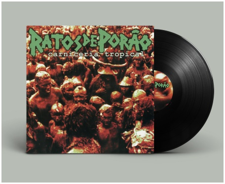 "RATOS DE PORAO ""Carniceria tropical\"" (black vinyl)"