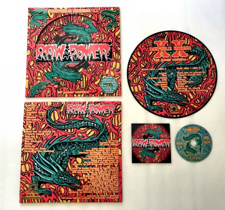 "RAW POWER ""Reptile house - XX Anniversary"" PictureLP+CD"