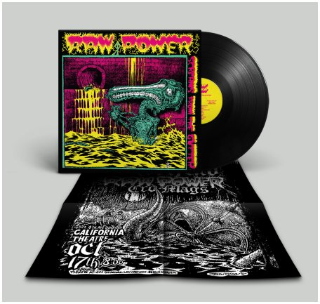 "RAW POWER ""Screams from the gutter"" 35 year edition (black)"