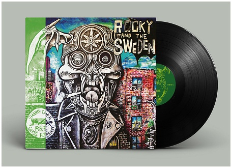 "ROCKY & THE SWEDEN ""City baby attacked by buds"" (PREORDER)"