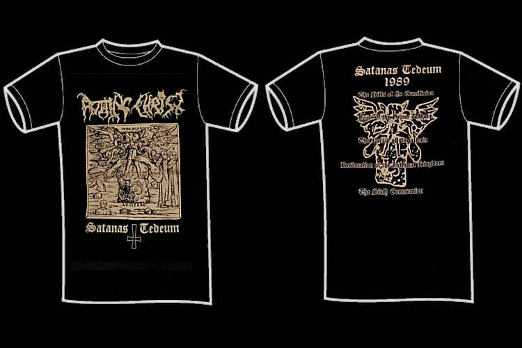 "ROTTING CHRIST ""Satanas tedeum\"" (t-shirt)"