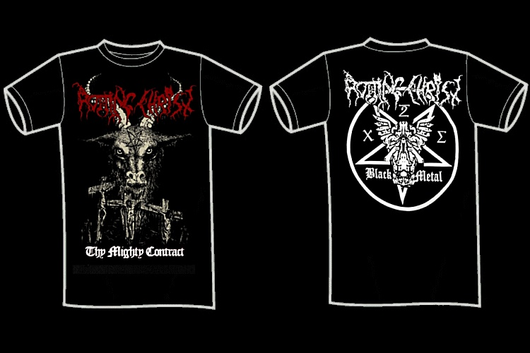 "ROTTING CHRIST ""Thy might contract\"" (t-shirt)"
