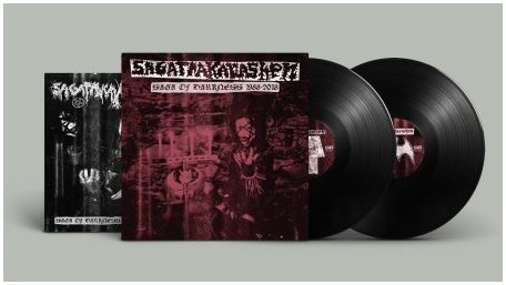 "SAGATRAKAVASHEN ""Saga of darkness 1988-2018"" 2LP (black)"