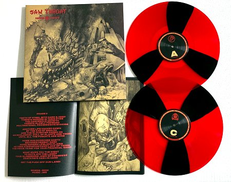 "SAW THROAT ""Indestroy (extended)"" 2xLP (diehard)"