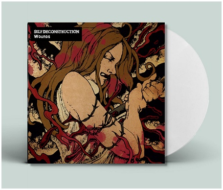 "SELF DECONSTRUCTION ""Wounds\"" (ltd. white vinyl)"
