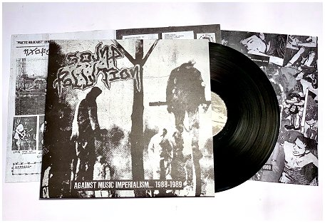 "SOUND POLLUTION ""Against music imperialism 88-89"" (black) PREORD"