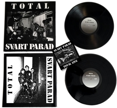 "SVART PARAD ""Total Svart Parad\"" 2xLP+CD (black)"