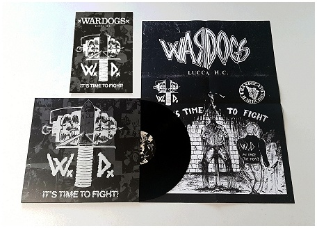 "WARDOGS ""It\'s time to fight!\"" (black vinyl)"