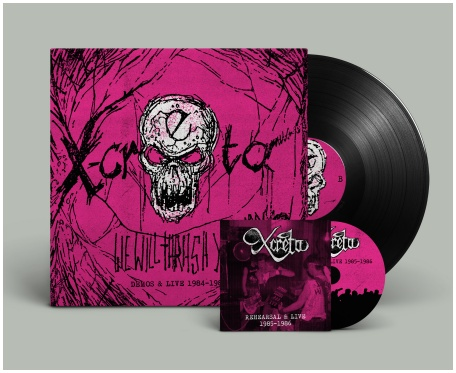 "X-CRETA ""We will thrash you!! 1984-86\"" LP+CD (black)"
